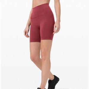Lululemon Wunder Train Shorts Chianti Red Size 10